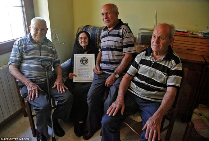 world's oldest siblings