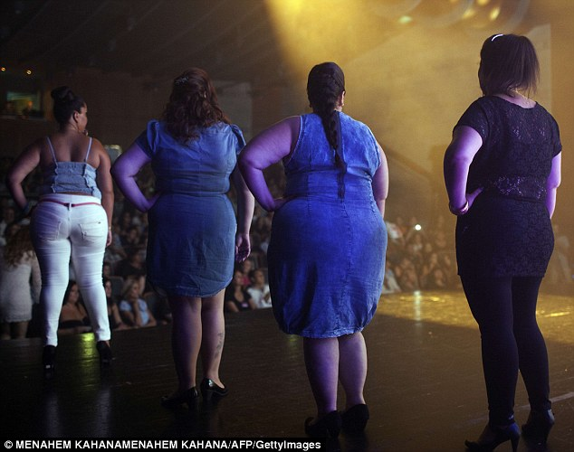 Israel's Miss Large beauty contest
