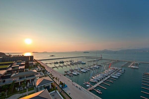 Sanya Serenity Marina achieves highest Gold Anchor Rating
