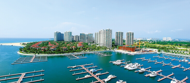 Lingshui speeding up yacht marina construction in Clearwater Bay