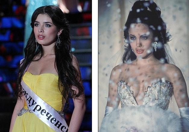Angelina Jolie lookalike Elmira Abdrazakova crowned Miss Russia