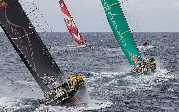 Volvo Ocean Race fleet to Miami