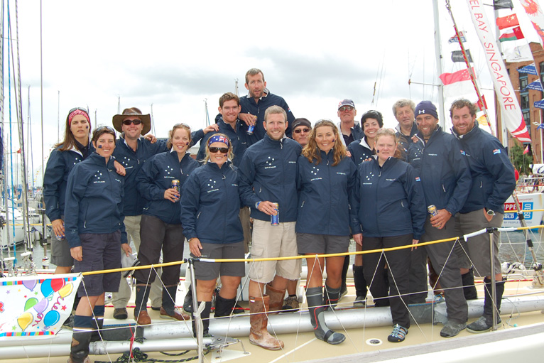 Spirit of Australia wins Clipper Round The World Race