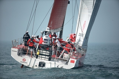 Team Dongfeng hold edge as fleet reaches pivotal turn around Southern India