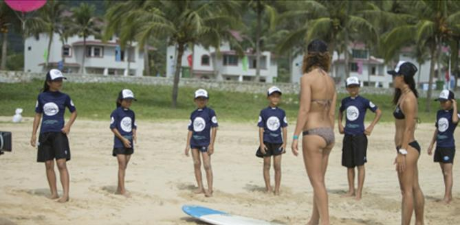 Swatch Girls Pro Surfing China 2012