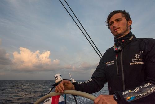 Dongfeng Team tighten their grip on leg 3 of Volvo Ocean Race