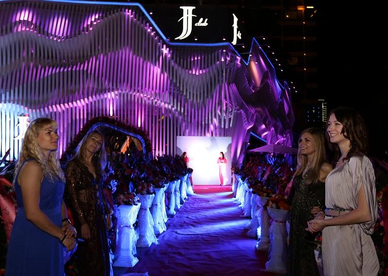 Club JJ, new trendy nightclub at Times Coast Bar Street in Sanya