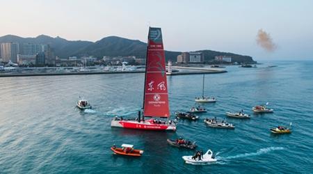 Dongfeng Race Team wins 3rd leg of Volvo Ocean Race 2014-15