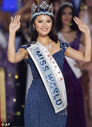 Miss China Yu Wenxia