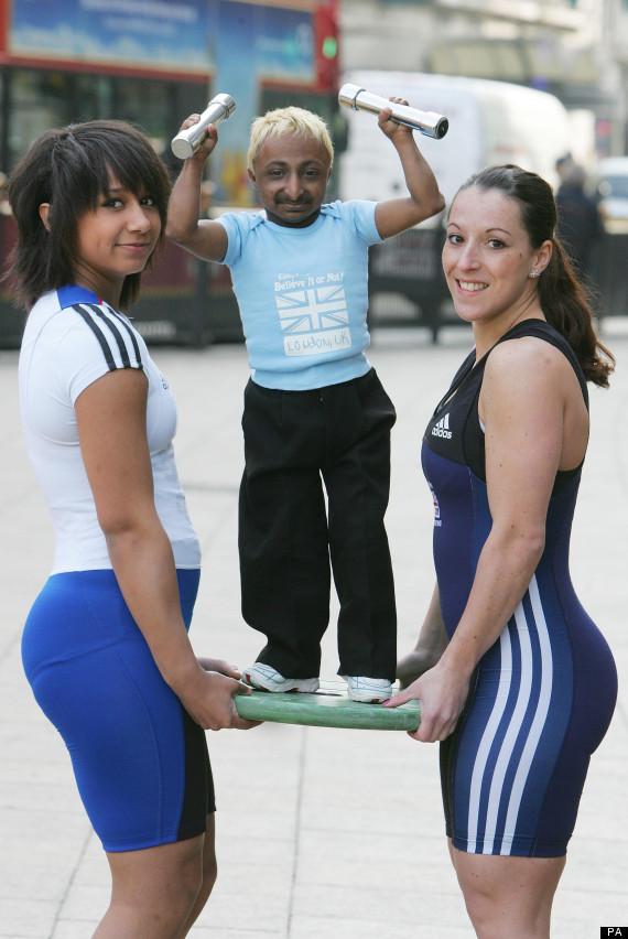 Aditya Romeo Dev  world's smallest bodybuilder