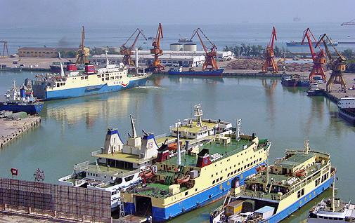 Sea transportation & major passenger ports in Hainan