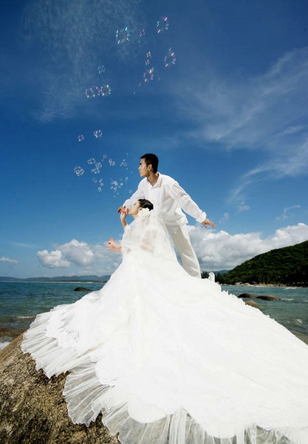 Sanya, a place for honeymoon and wedding