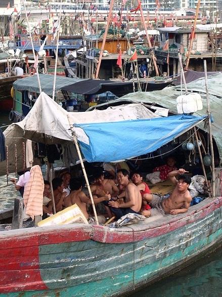 Fishermen in Sanya