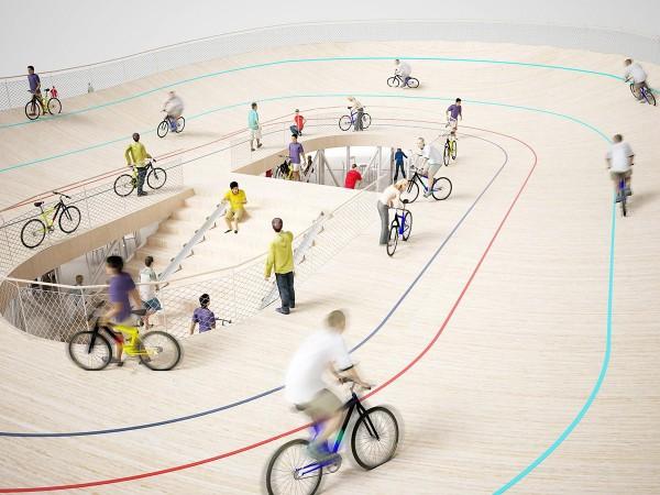 Sanya bike pavilion