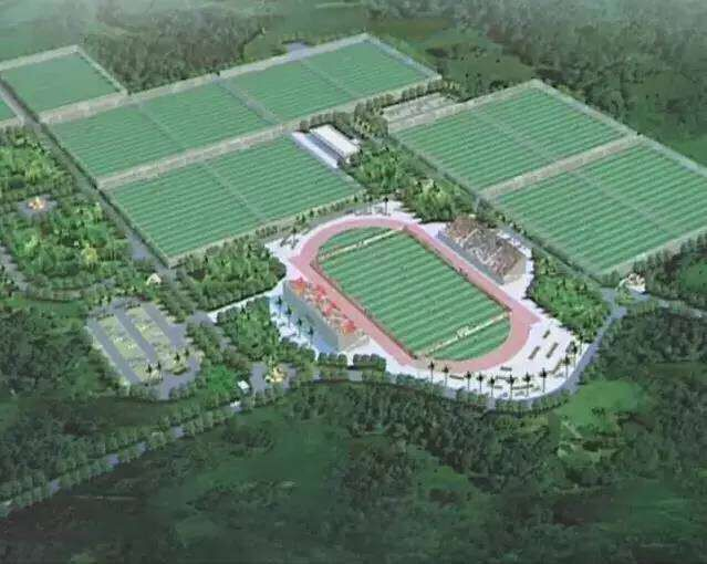 Haikou to build international football training base in Yongxing Town