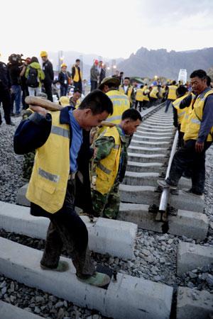 Lhasa-Xigaze railway