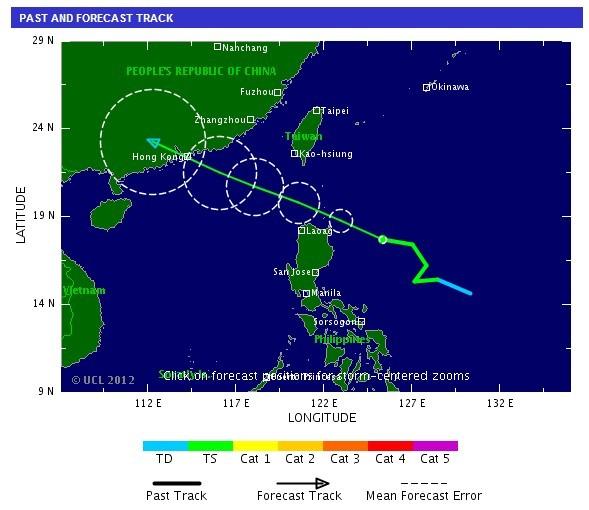 tropical storm Doksuri