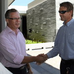 CEO of the Volvo Ocean Race, Knut Frostad in Sanya to review port facilities