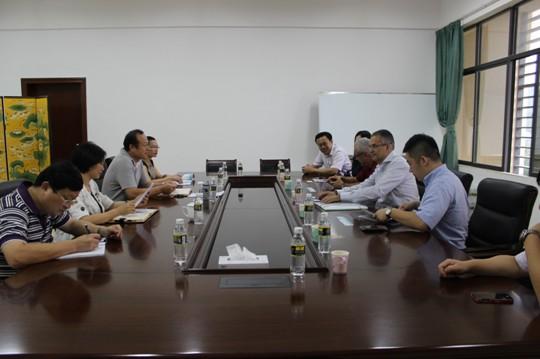 Delegation from French Kedge School visits Sanya's Qiongzhou University