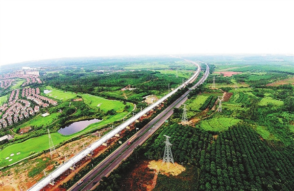 Hainan Western Ring Railway to be officially put into operation on Dec 20