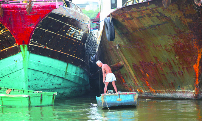 Tanmen fishing port