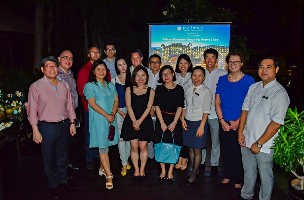 Thomas Cook delegation stayed in Pullman Oceanview Sanya Bay
