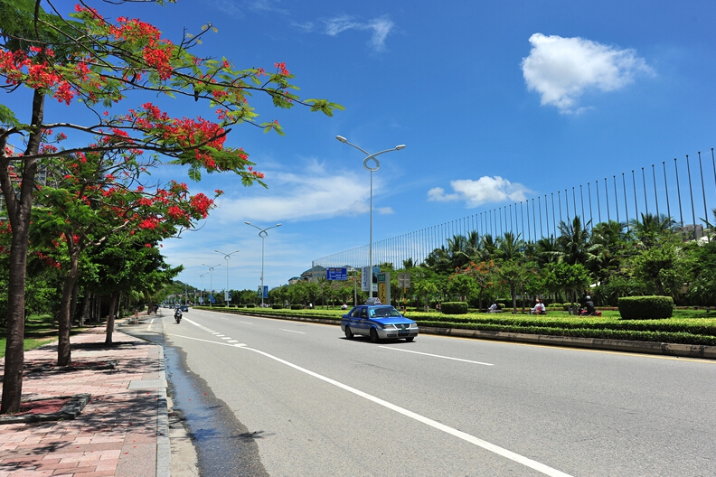 Hiring a driver & car for one-day sightseeing in Sanya