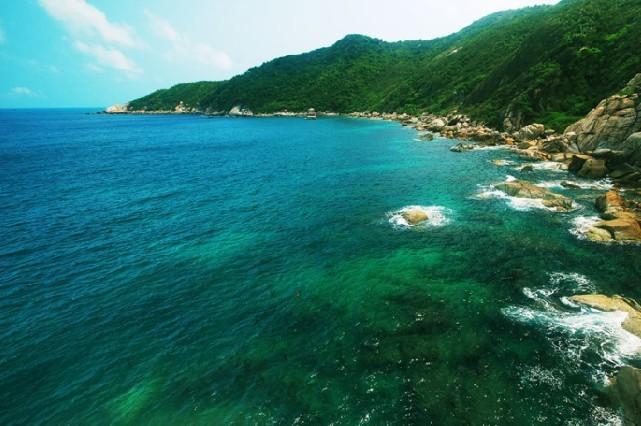 Wuzhizhou Island, Hainan