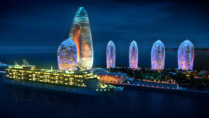 Sanya cruise tourism