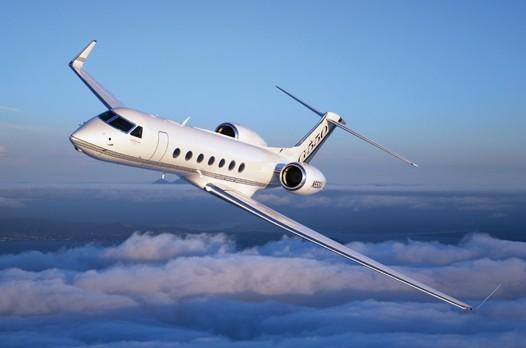 G550 business jet