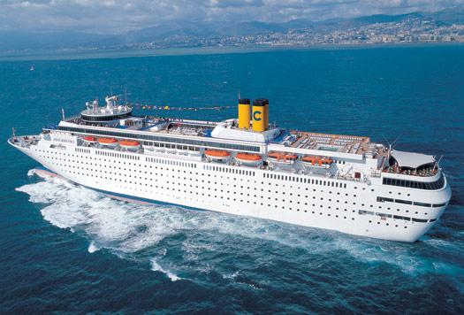 Italian-inspired luxury liner Costa Romantica to call at Sanya