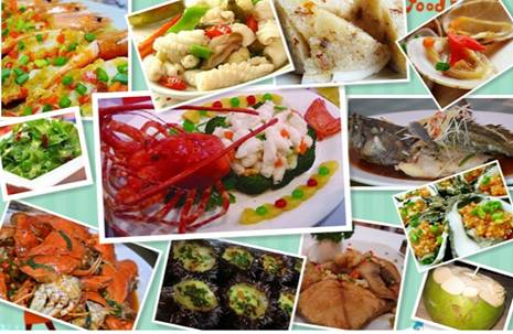 Places to eat seafood in Sanya