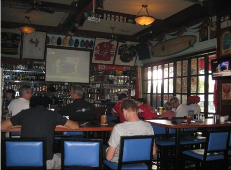 Sanya Dolphin Sports Bar & Grill – a nice place for Western food