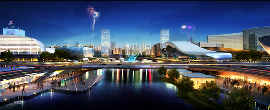 Haikou to build largest catering and entertainment center at west coastline