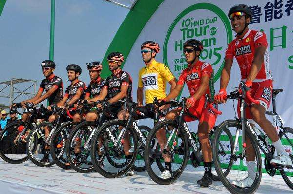 10th Tour of Hainan kicks off in Wanning October 20