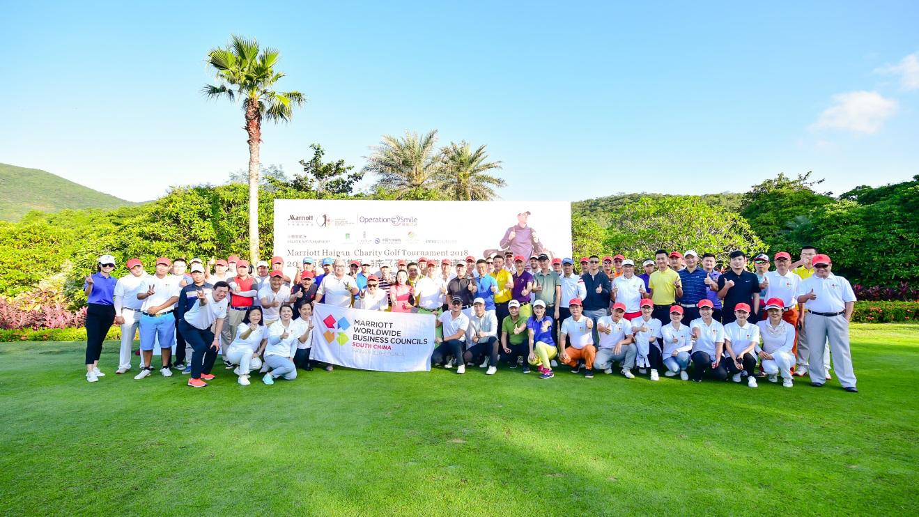Marriott Hainan Golf Tournament raises funds for Operation Smile