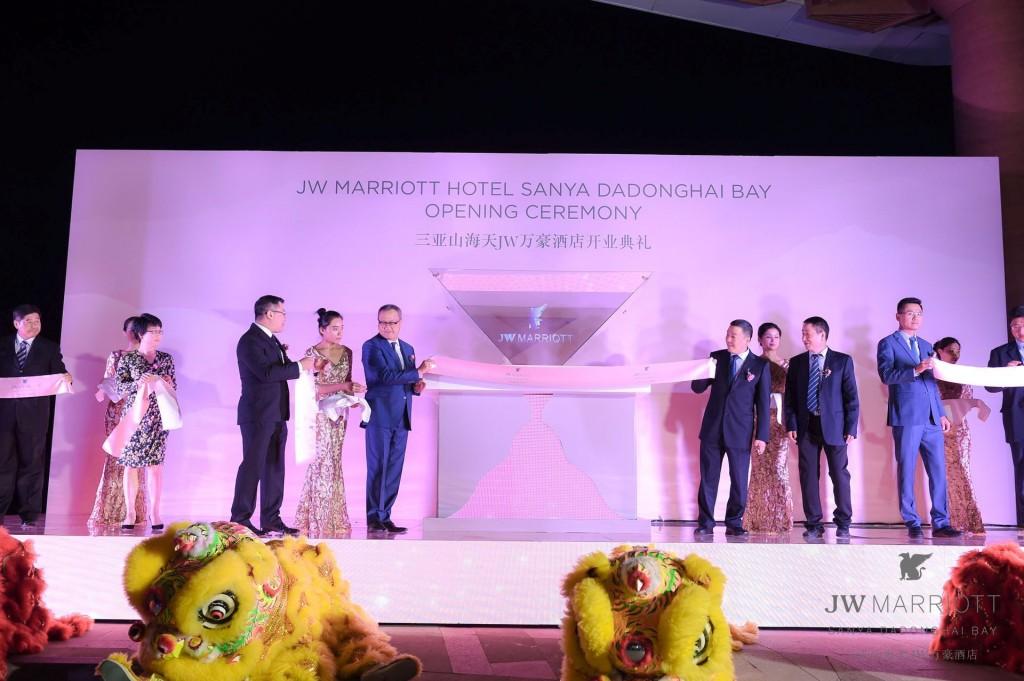 Hainan's first JW Marriott opens in Sanya at Dadonghai Bay