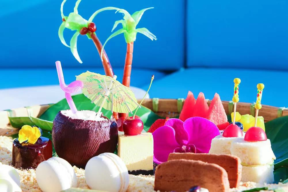 New afternoon tea set menu at Phoenix Island Resort Sanya