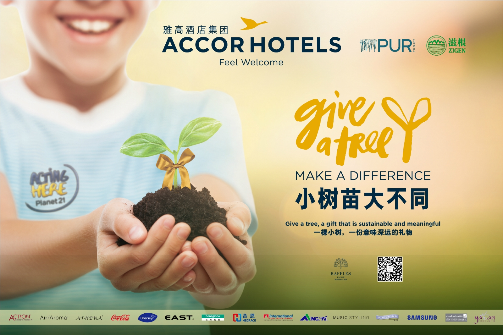 AccorHotels Greater China raises over RMB630,000 through Give a Tree campaign to support the environment
