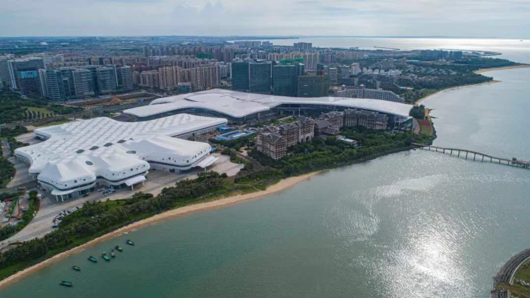 Second phase of Hainan International Convention and Exhibition Center opens